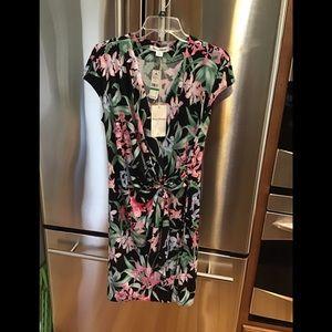 Tommy Bahama wrap dress size large NWT